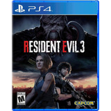 Resident Evil 3 Ps4 Fisico Juego Playstation 4