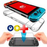 Acrilico Protector Nintendo Switch + Vidrio Templado Screen