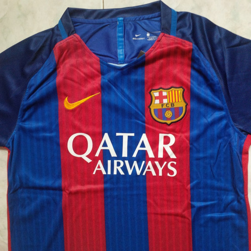 Camiseta Camisa Barcelona Fc Local 2016- 2017 Niños.   30000 be1930e773b