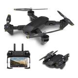 Drone Dm107s Doble Cámara 2mp Wifi Plegable