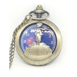 Reloj Bolsillo Bronce El Principito Antoine Saint Exupery 1a