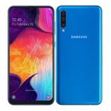 Samsung Galaxy A70 6gb 128gb+ Sd De 128 Gb Dual+vidrio 5d