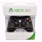 Control Inalambrico Para Xbox 360 Negro Nuevo!