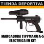 Marcadora De Paitnball A-5 Electrica+ Careta + Pipeta 20 Onz