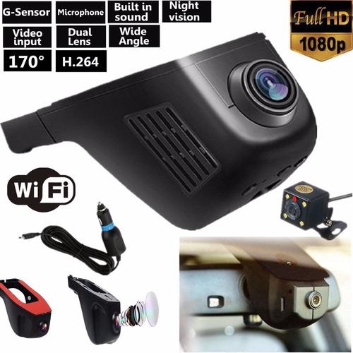 camara carro wifi doble lente 1080p 170 199000 uiwbg precio d colombia. Black Bedroom Furniture Sets. Home Design Ideas