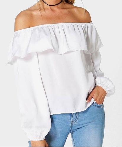 Blusas para mujer Limonni LI566 Campesinas