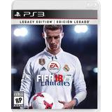Fifa 18 Ps3 Nuevo Fisico Edicion Legacy - Mr. Electronico