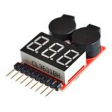 Probador Baterias Lipo Tester 1-8s Celdas Bajo Voltaje Rc