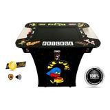 Máquina De Arcade Tipo Mesa Cocktail 60 Juegos Clasicos