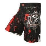 Pantaloneta Hombres No Mercy Mma Boxeo Kick Boxing Muay Thai