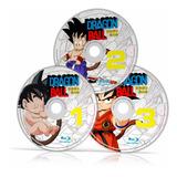 Serie Completa Dragon Ball/z/gt/super 960p/1080p Para Bluray