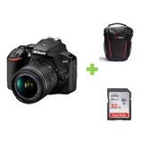 Camara Nikon D3500+18-55 24,2mpx Full Hd + 32gb + Bolso