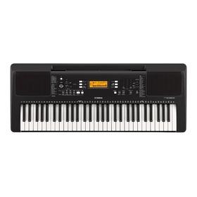 Combo Teclado Organeta Yamaha Psr-e363 Con Adaptador Y Base
