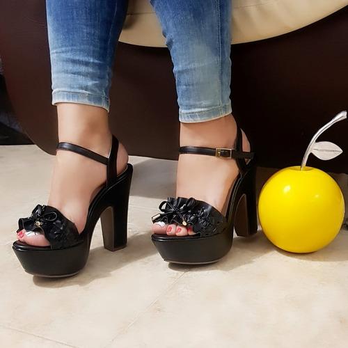 4220170bd7e Sandalia De Mujer Plataforma Envio Gratis