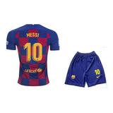 Uniforme Oficial Barcelona Niño 2019 - 2020 Messi No.10