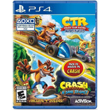 Crash Bandicoot N Sane Trilogy + Ctr Nitro-fueled Ps4