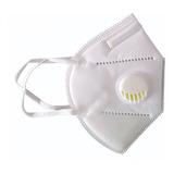 Tapabocas Con Filtro N95 Respirador Válvula Mascarilla 5 Cap