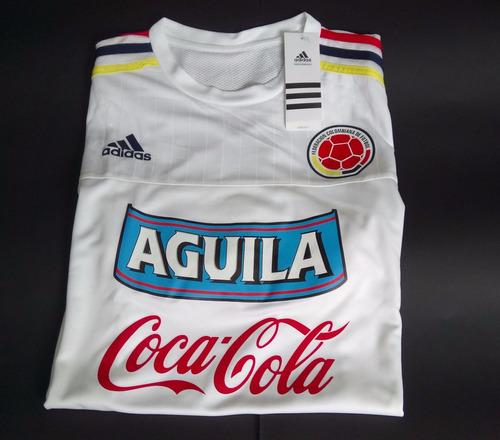 Camiseta Entrenamiento Selección Colombia 2015 Logos da5b38a3470