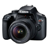 Camara Canon Eos Rebel T100+ 18-55 18mp Video Full Hd Wifi