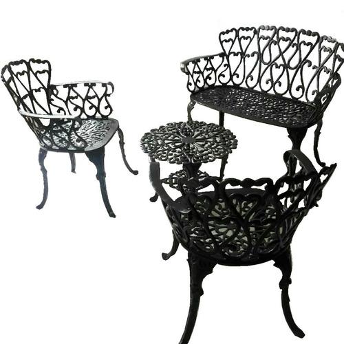 3953522b3 Muebles De Sala Exterior Silla Mesa Jardin Terraza Aluminio