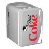 Mini Nevera-calentador Diet Coke, Capacidad 4l, Con
