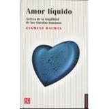 Amor Liquido Libro Nuevo Zighmun