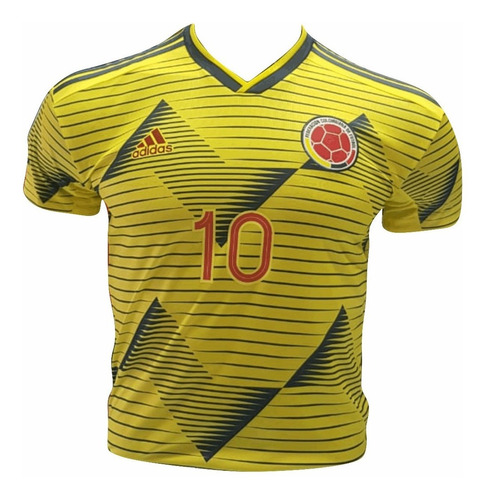 5b22ac5dd7 Camiseta De Seleccion Colombia Version Jugador James 2019