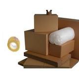 Paquete De Mudanzas Y Trasteos Full (cajas De Carton)