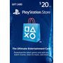 Psn 20 Usd Playstation Network Card