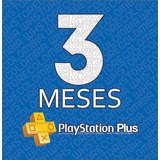 Playstation Psn Plus 3 Meses 98 Días Ps4-ps3 + Juegos