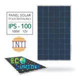 Panel Solar Policristalino 100w 12v