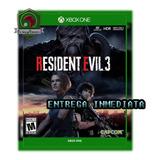 Resident Evil 3 Remake 2020 Xbox One Offline