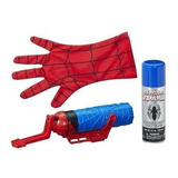 Guante Y Telaraña De Spider Man Marca Marvel