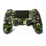 Control Ps4 Camuflado Verde Segunda Generación Original Nue
