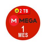 Cuentas Premium Mega 30 Dias 1 Mes 2000gb Envio Inmediato