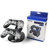 Soporte Cargador Dual Para Controles Ps4 Ps4 Pro Y Ps4 Slim