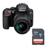 Càmara Nikon D3500 Kit 18-55mm + 32gb.