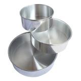 Molde Para Tortas En Aluminio De Alta Calidad
