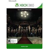 Resident Evil 1 Xbox 360