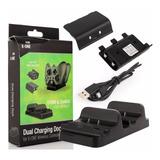 Cargador Doble Control Xbox One + 2 Baterias + Cable Usb