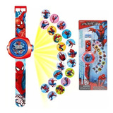 Reloj Proyector Avengers Cars Sofia Sorpresas Piñata Ajd