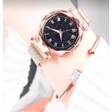 Nuevo Reloj Cielo Estrellado Pulso Magnetico Para Mujer