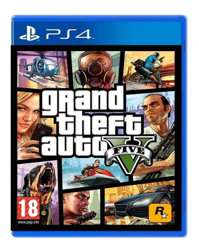 Grand Theft Auto V  Gta 5 V Fisico Nuevo Sellado Remate