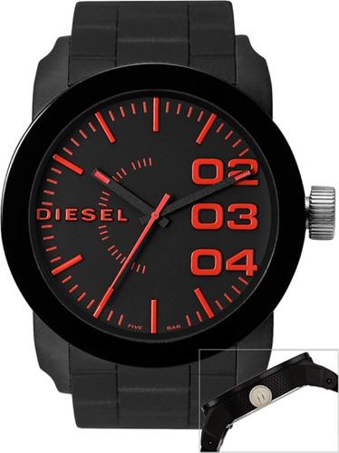 ed1a9dc923bc Diesel Dz1777 Reloj 100% Original Double Down Hombre