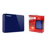 Disco Duro Externo Portable Toshiba Advanc 4 Tb Teras Usb 3.