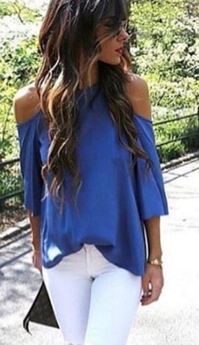 Blusas para mujer Limonni LI837 Casuales