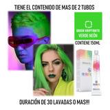Salerm Tinte Fantasia Verde Neon 150ml - mL a $219
