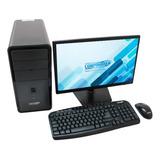 Pc De Mesa Core I3 7g 1tb 4ram - Monitor 20  Pulgadas