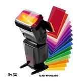 Filtros Difusores Color Flash Nikon Canon Yongnuo