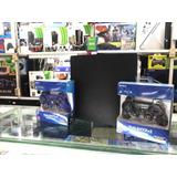 Play Station 3 Usada 160gb + 2 Controles + 15 Juego Digitale